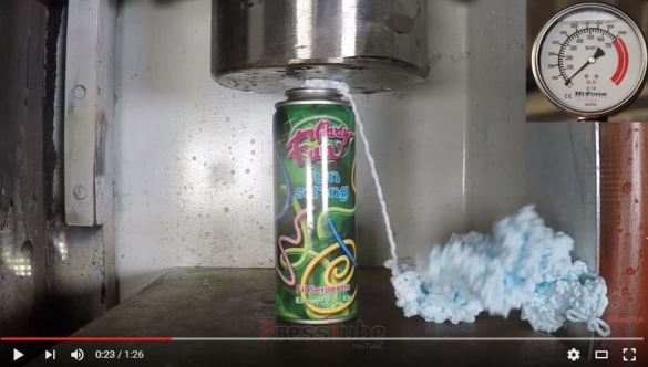 Hydraulic Press  Silly String - YouTube - Google Chrome_2016-06-02_14-32-00